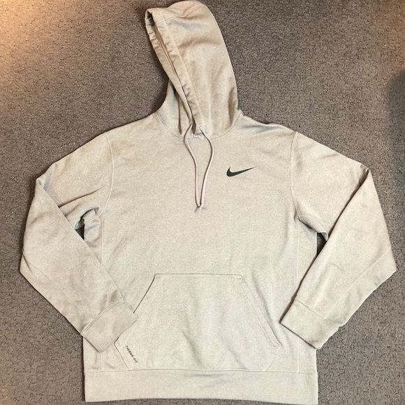 Nike Other - Nike Men's Therma Fit Gray Sweatshirt Hoodie M